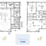 家事動線に配慮した使い易い機能充実な33坪プラン(間取)