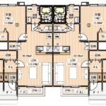 間取り図 1階 1LDK